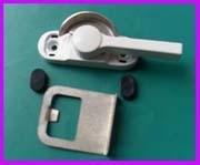 铝合金双向可调门窗月牙锁推拉锁