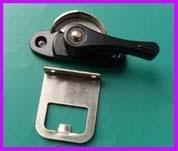 铝合金可调左右门窗月牙锁