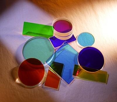 彩色玻璃濾光片