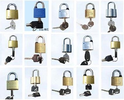 各種規格表箱掛鎖 銅掛鎖 通開掛鎖
