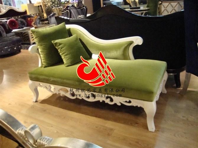 文山现代欧式布艺沙发//实木雕花沙发订制