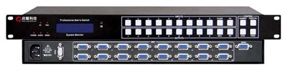 VGA切換器16切1,十六口vga切換器,16路VGA切換器