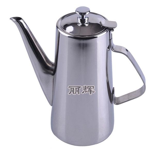 不锈钢长嘴咖啡壶冷水壶酒店客房 1.5L 2L