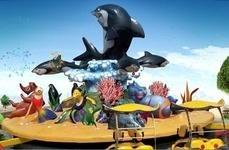 游樂設備激戰鯊魚島