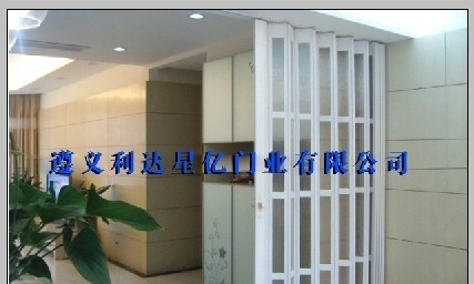 新型折叠门 隔断门 pvc折叠门 厂家