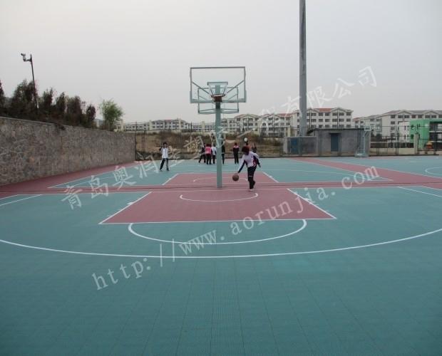 防寒室外拼装篮球场-拼装排球场地板