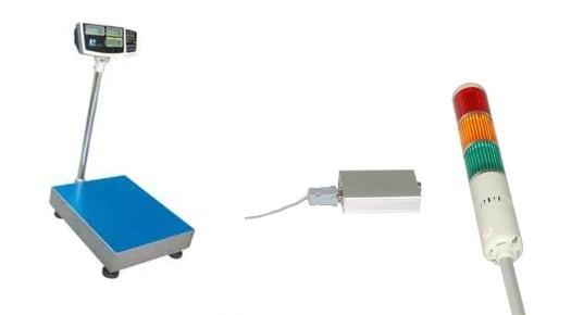 南京JPS-30kg/75kg/150kg電子稱帶報警燈價格