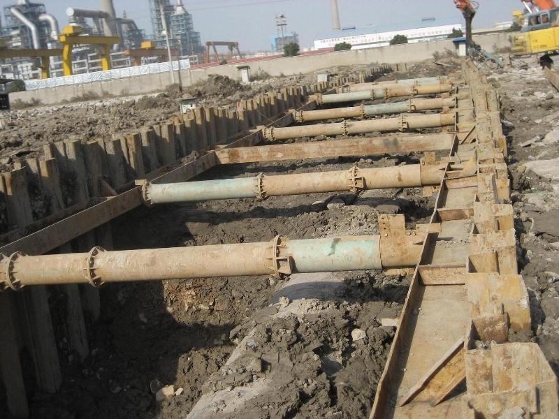 拉森鋼板樁租賃、打拔施工服務
