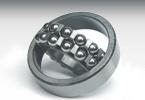 自潤滑調心球fag軸承2204K+H304軸承