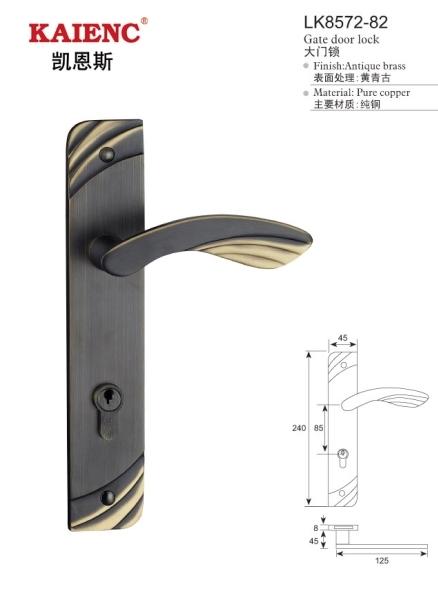 豪華經典歐式仿古機械鎖 房門鎖 執手鎖 房門鎖 室內門鎖 防
