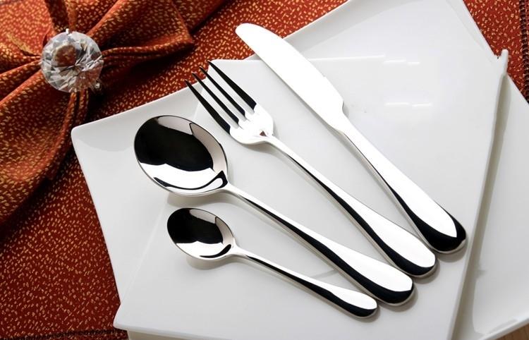 不锈钢西餐餐具 伊莎贝拉咖啡西餐厅专用刀叉 高贵雅典