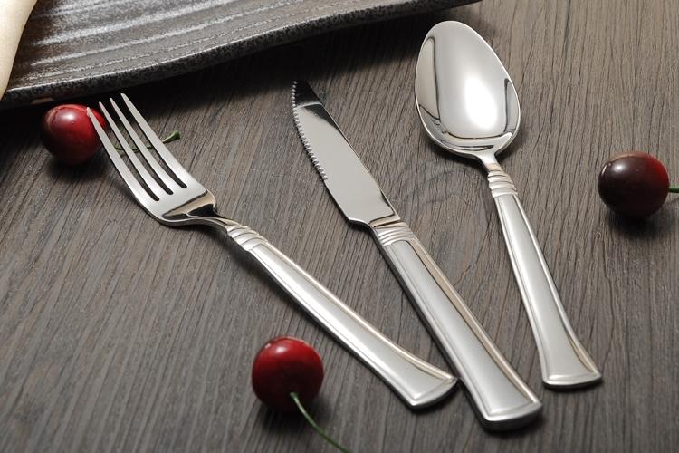 【优质供应】高档不锈钢餐具刀叉,出口西餐刀叉勺,欧美品质刀叉