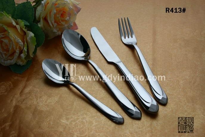 不銹鋼西餐刀叉 高檔不銹鋼西餐刀叉 酒店西餐具刀叉
