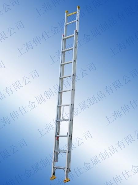 天津鋁合金兩節伸縮梯