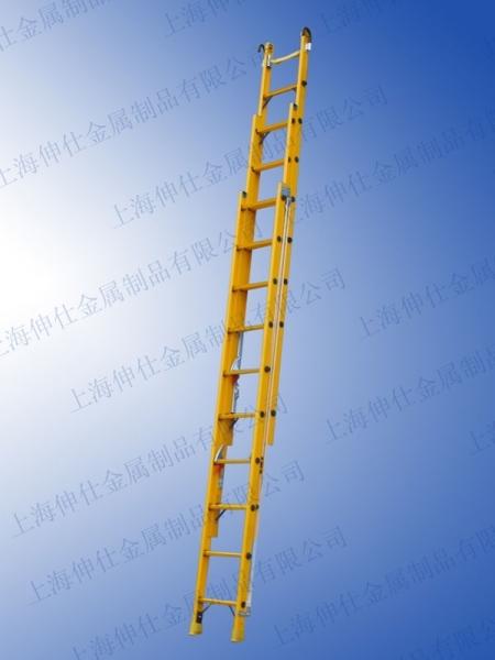天津玻璃钢绝缘三节伸缩梯