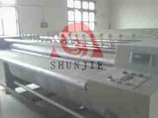 供应莱西市顺洁牌床单被套工业水洗机说明