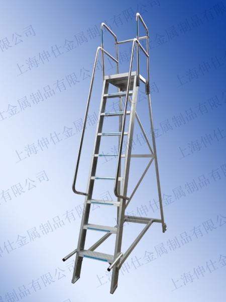 天津铝合金平台梯-B