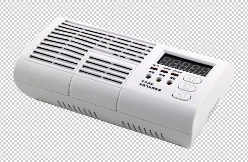 語音全智能數顯燃氣報警器