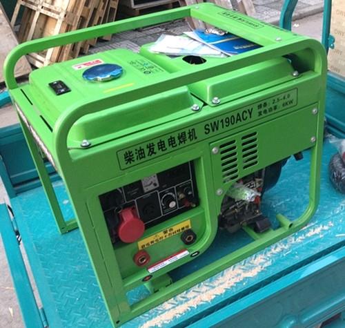 190A柴油发电电焊机|节能轻便型发电电焊机