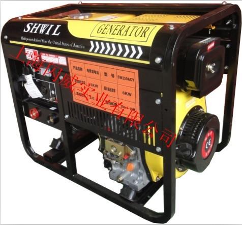 250A柴油發電電焊機 管道焊接專用發電電焊機