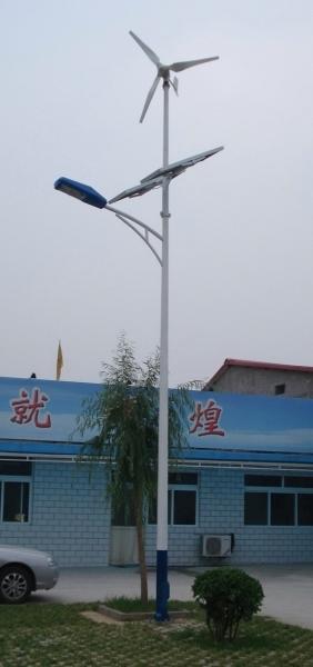 四川風光互補路燈