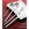 高档不锈钢餐具 Y370磨砂304不锈钢西餐刀叉不锈钢餐具
