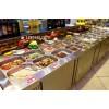 主题自助餐厅菜品柜 自助餐菜品展示台 鹤壁自助餐台定做