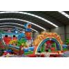 大型兒童充氣滑梯蹦床  柳州市超大型廣場充氣滑滑梯
