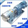 衛生級凸輪式雙轉子泵