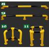 常熟U型擋車器鋼制護欄安裝定做常用規格推薦