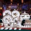 国庆节礼餐具订做 景德镇陶瓷餐具礼品定制批发