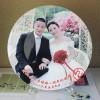 結婚周年紀念盤定制照片 結婚紀念品定制