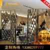 佛山廠家生產鈦金屏風 定制客廳玄關遮擋鏡面不銹鋼屏風