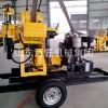 华夏巨匠XYX-200轮式岩芯钻机 小型地表岩心勘探钻机