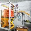 工業智能機器人碼垛機 自動礦粉包裝碼垛機