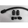 石家莊生產防水型尼龍波紋軟管接頭,塑料波紋管接頭廠家
