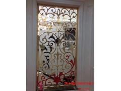 福建铝雕刻屏风 镀金铜屏风效果相比