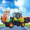 热销小型公路护栏打桩机 HB-30装载机打桩机的规格图片