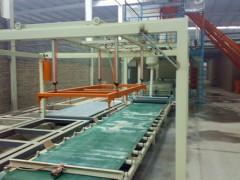 山东集装箱房地板生产线-玻镁地板生产线