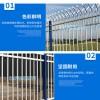 廣州1.8常規鐵藝圍欄 惠州鋼管護欄款式 三橫管圍欄
