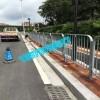 東莞市政公路護欄批發 深圳人行過道灰色港式護欄生產廠家
