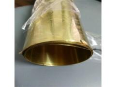 黃銅帶現貨直銷 h62半硬黃銅帶 超薄黃銅箔 黃銅帶規格