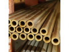 供應h62 h59黃銅薄壁管 大規格厚壁黃銅管 毛細銅管