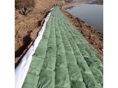 河道绿化护坡生态袋的码放做法