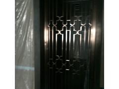生产不锈钢镂空雕花屏风酒店KTV彩色钛金玫瑰金不锈钢屏风定制