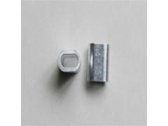 304不锈钢椭圆铝扣 铝套加工厂家
