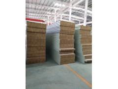 防火保温岩棉板 岩棉夹芯板 外墙机制彩钢岩棉夹芯板