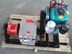绞磨机 电缆牵引器 机动绞磨机汽油柴油 3T5T8吨卷扬机