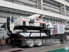 时产200吨车载一体移动煤矸石破碎机多少钱