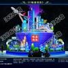動感造型光雕展銷售投影